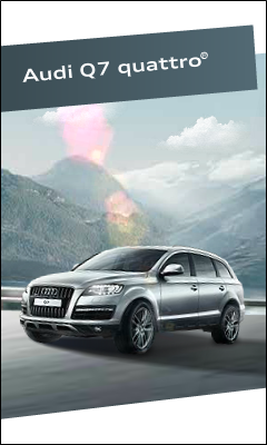 "Баннер ""Audi Q7 Quattro"". Баннер №1"