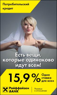 HTML5-баннер: Райффайзен Woman