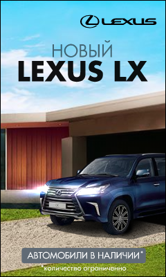 HTML5: Lexus NX. Баннер №1