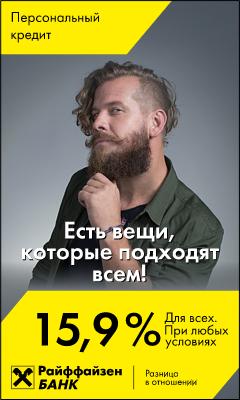 HTML5-баннер: Райффайзен Man