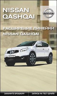 Nissan Qashqai. Баннер №2